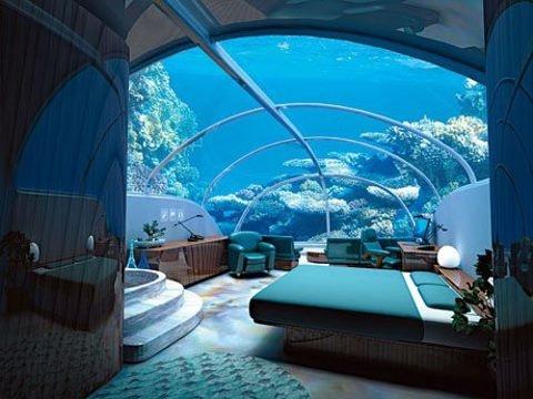 underwater room!