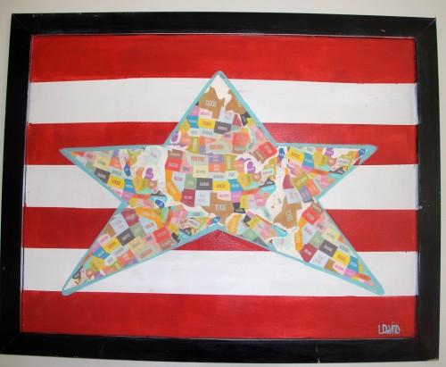 DIY USA FOLK ART