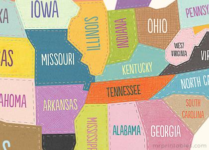 america-map-detail