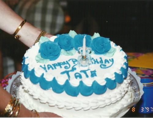 Tate's First Birthday Cake