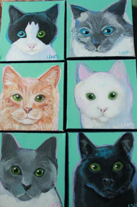 AND LAST BUT MOST CERTAINLY NOT LEAST...THE KITTIES!!!