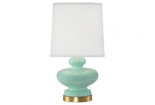 Genie Table Lamp, Seaglass