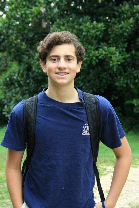 Cooper the 8th grader