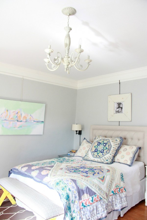 ANTHROPOLOGIE BEDDING ON BALLARD DESIGNS BED!
