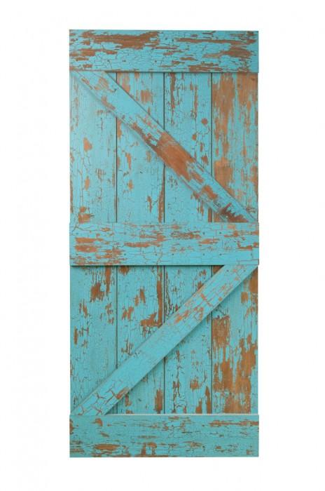 TIME LINE BLUE CHALK BRITISH BRACE DOOR REAL SLIDING DOOR