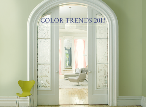 BENJAMIN MOORE COLOR TRENDS