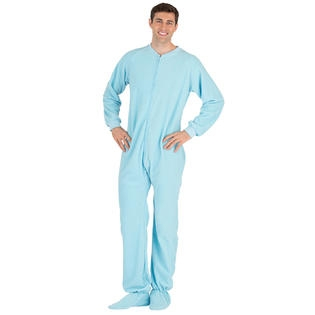 UNISEX BABY BLUE UNION SUIT