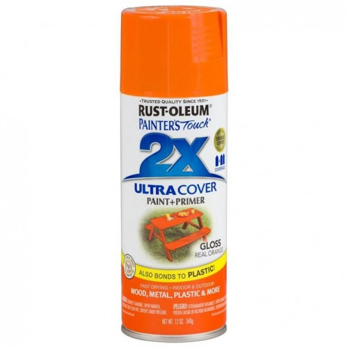 Rustoleum Painters touch 2X Gloss Real Orange General Purpose Spray Paint