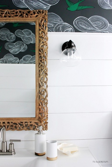BATHROOM MAKEOVER BY HI SUGARPLUM - DAYDREAM GRAY