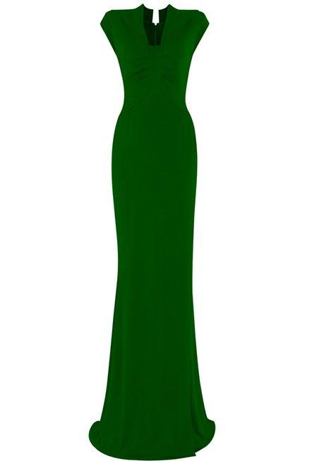 SUZANNAH - BEAUTIFUL DRESS! Boulder Gown 40s Green