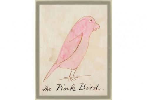 """""""THE PINK BIRD"""" ONE KINGS LANE"""