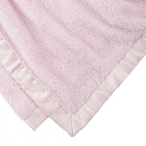PERSONALIZED PINK CUDDLE ME BLANKET FROM LAND OF NOD