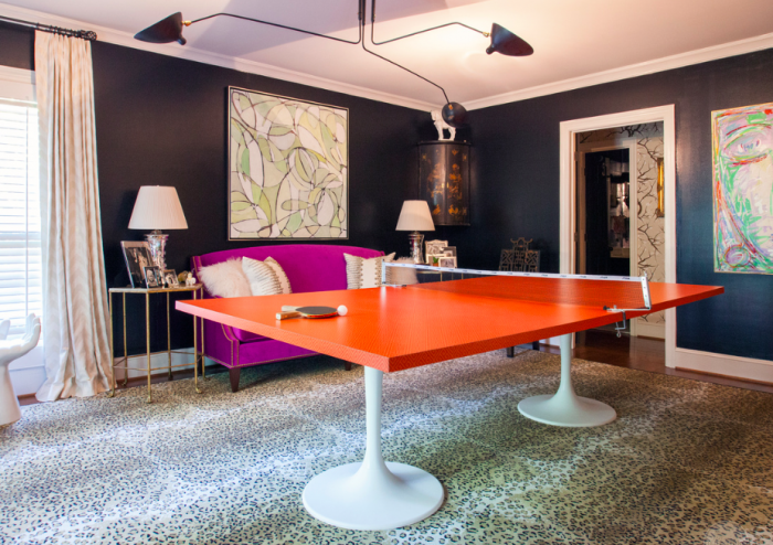 HOLLY'S UNUSED LIVING ROOM TURNED PING PONG EMPORIUM FROM THE ENGLISH ROOM