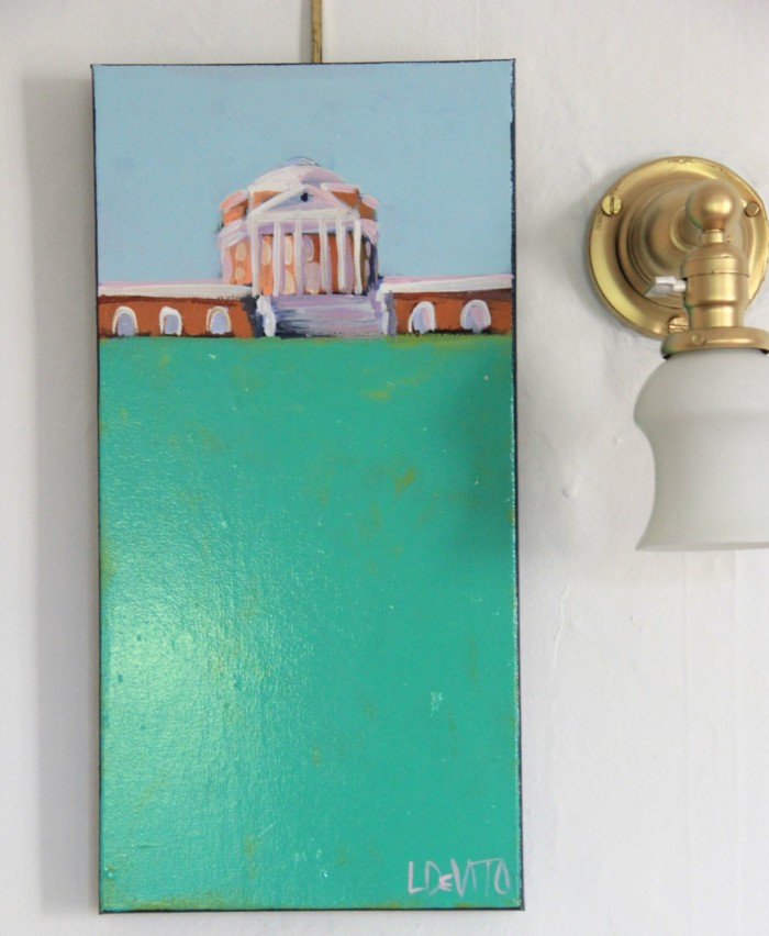 UVA ROTUNDA PAINTING #1 10 X 20