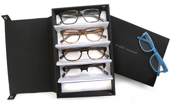 TRY ON WARBY PARKER