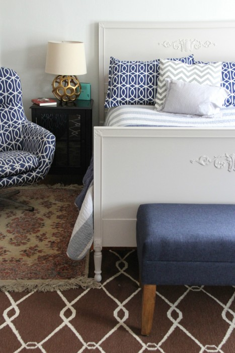 COOPER'S BED - SOMETHING OLD, SOMETHING NEW, SOMETHING BORROWED AND SOMETHING(S) BLUE!