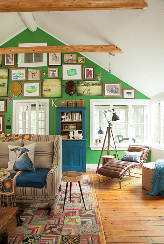 HOUSE OF TURQUOISE - TURQUOISE AND GREEN