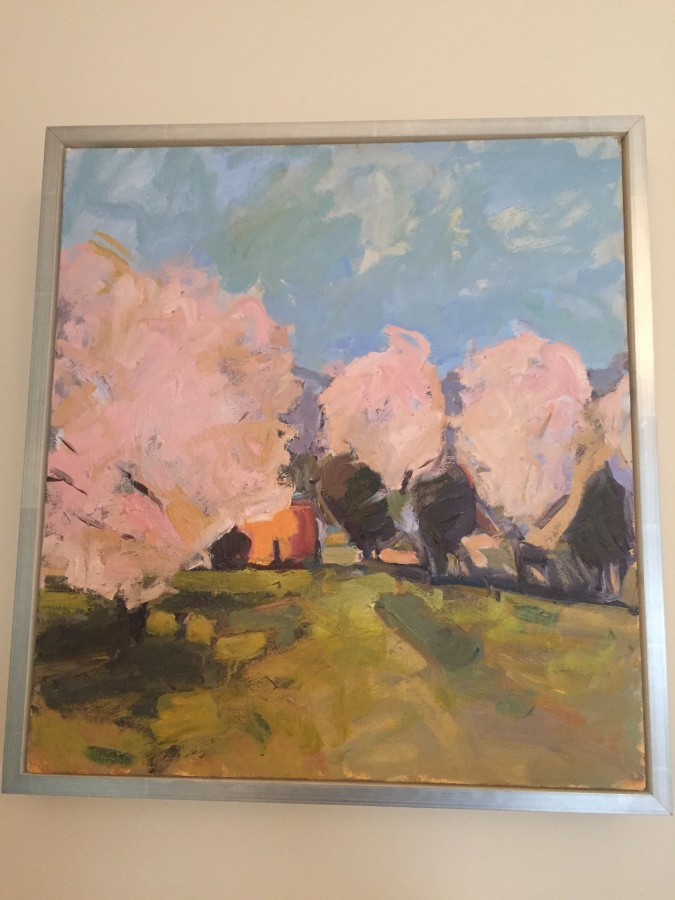 """PINK ON BLUE"" Y ISABEL ABBOT - DID I MENTION THE ART IS SWOON WORTHY!!!"