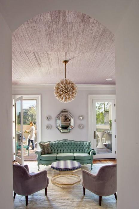 RETHINK DESIGN STUDIO - HOUSE OF TURQUOISE - TUFTED CAMELBACK VELVET SOFA