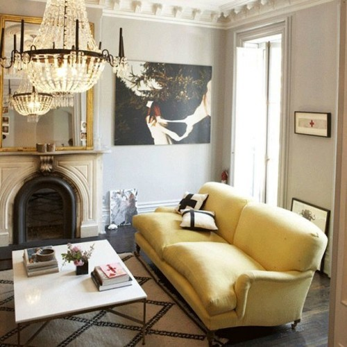GEORGE SHERLOCK SOFA FROM JENNA LYONS BROOKLYN APARTMENT