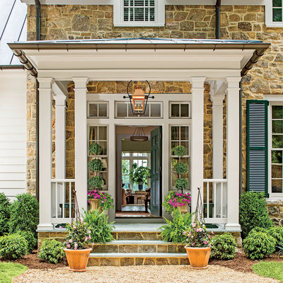Front Door looking through house, Idea House,