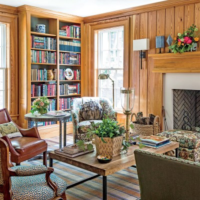 SOUTHERN LIVING PHOTO OF THE LIBRARY