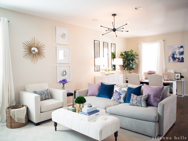 ARIANNA BELLE LIVING ROOM MAKEOVER