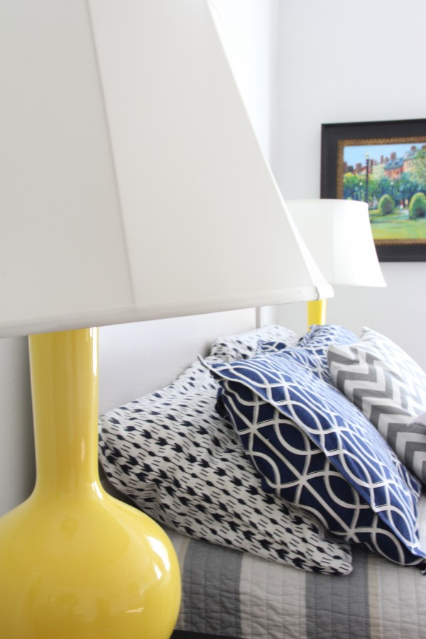 THESE AWESOME YELLOW LAMPS HAVE BEEN IN ALMOST EVERY ROOM IN THE HOUSE