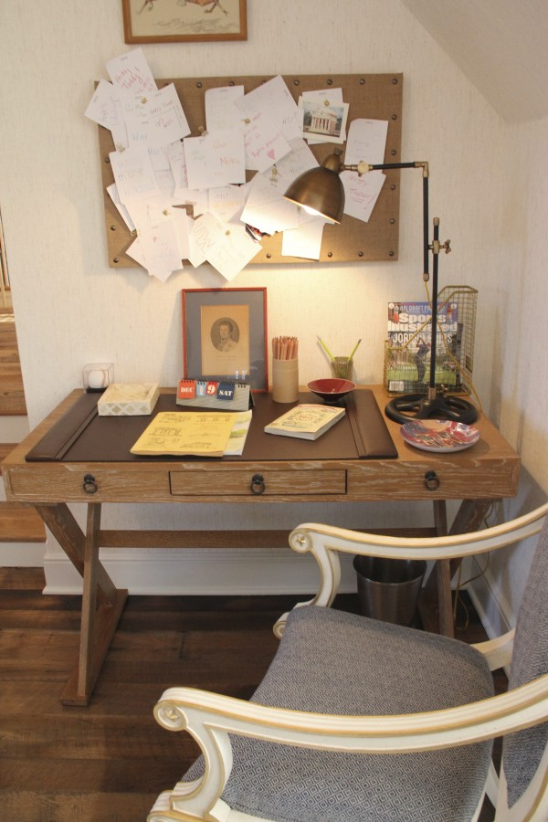 I LOVE THE DESK AND HOW THE DESIGNER HAS GIVEN EACH ROOM AND GREAT WORK SPACE