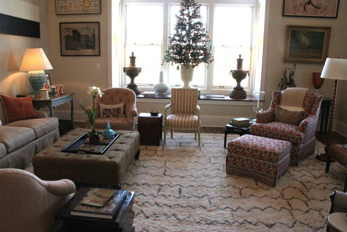 THE SOUTHER LIVING 2015 IDEA HOUSE LIVING ROOM ...HOLIDAY DECORATING