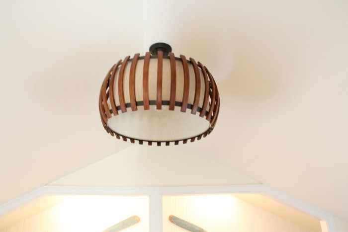 LOVE THIS LIGHT FIXTURE IN THE SHARED ROOM!