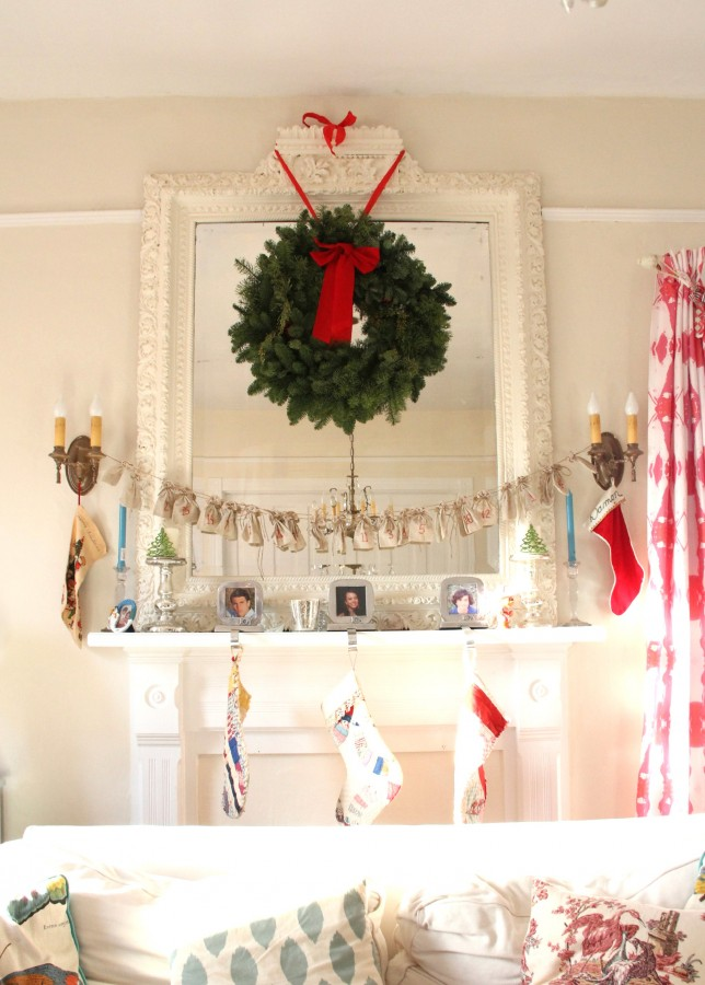 THE MANTLE AND WREATH