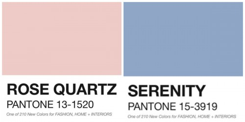 IS IT NOT KIND OF FUNNY THAT THE COLOR OF THE YEAR IS NAMED SERENITY...NOT EVEN JUST A LITTLE BIT???