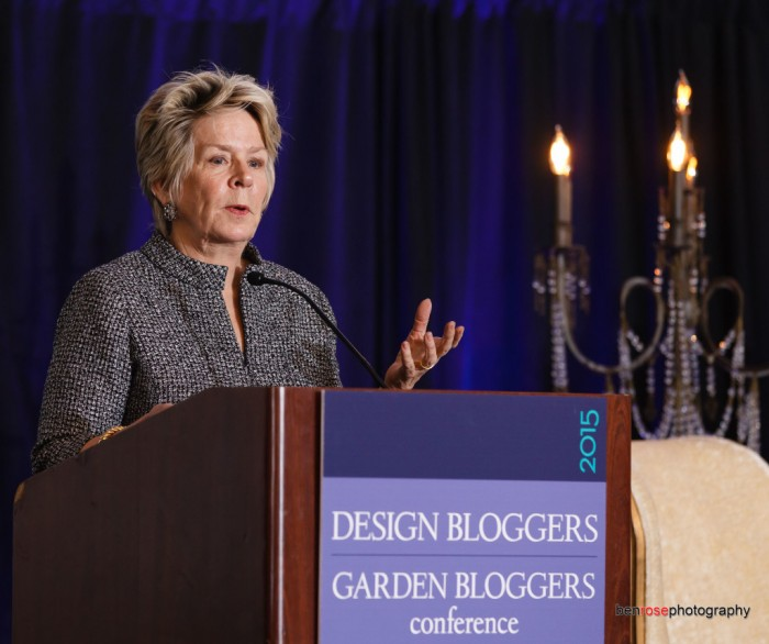 BUNNY WILLIAMS AT THE 2015 Design Bloggers Conference