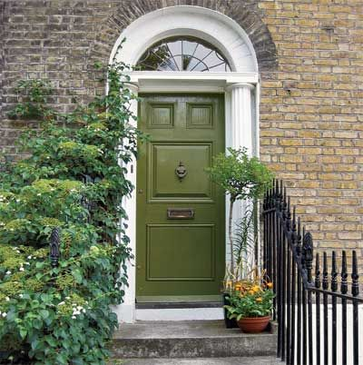 THIS OLD HOUSE - LOVE LOVE LOVE THIS COLOR FOR A FRONT DOOR AND MAY HAVE TO COPY IT!