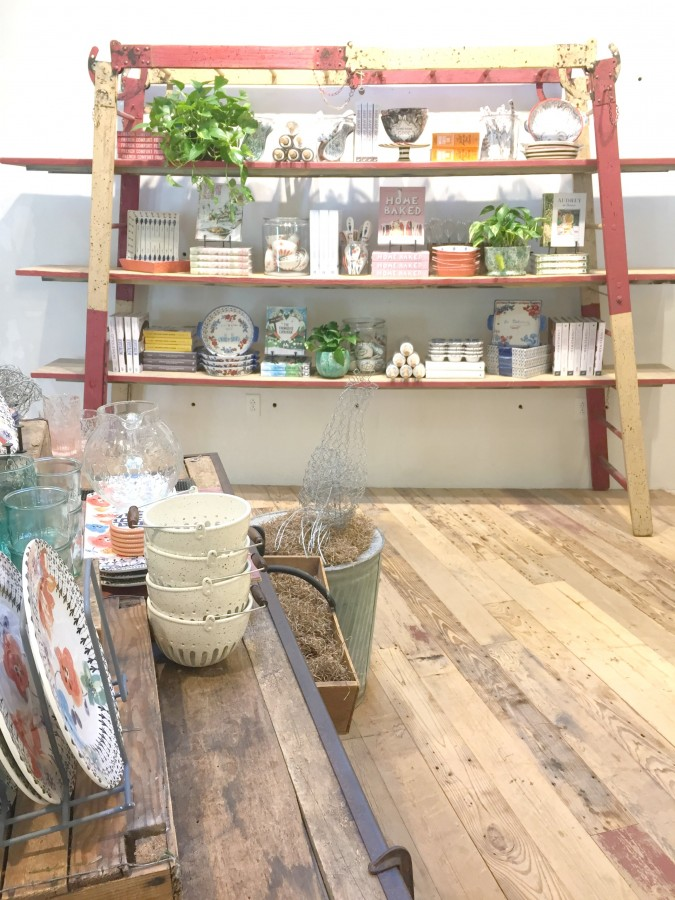ANTHROPOLOGIE LADDER SHELF