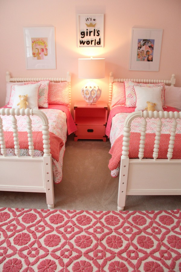 MONDAY MAKEOVER - SHARED LITTLE GIRLS ROOM on Girls Room Decor  id=41908