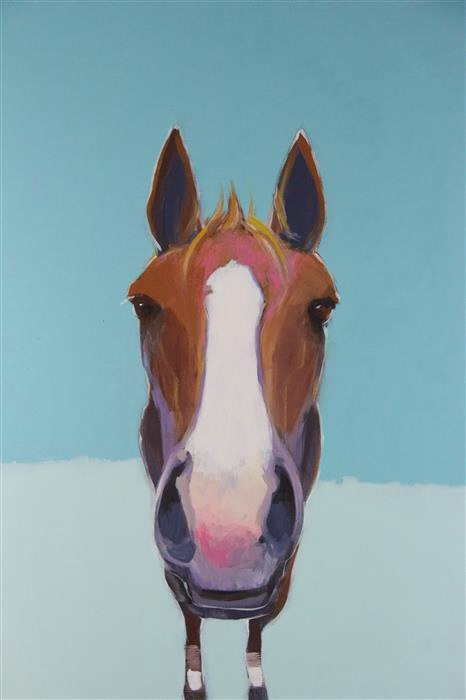 ADRIAN - 24 x 30 by Lesli DeVito on UGallery