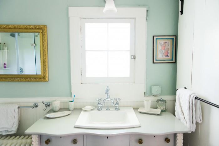 MASTER BATHROOM - BENJAMIN MOORE PALLADIAN BLUE