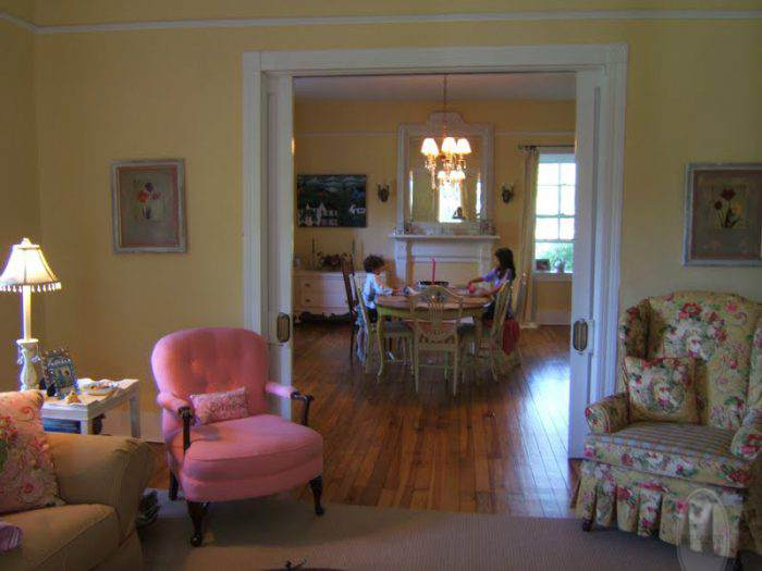 LIVING ROOM - LAURA ASHLEY COWSLIP