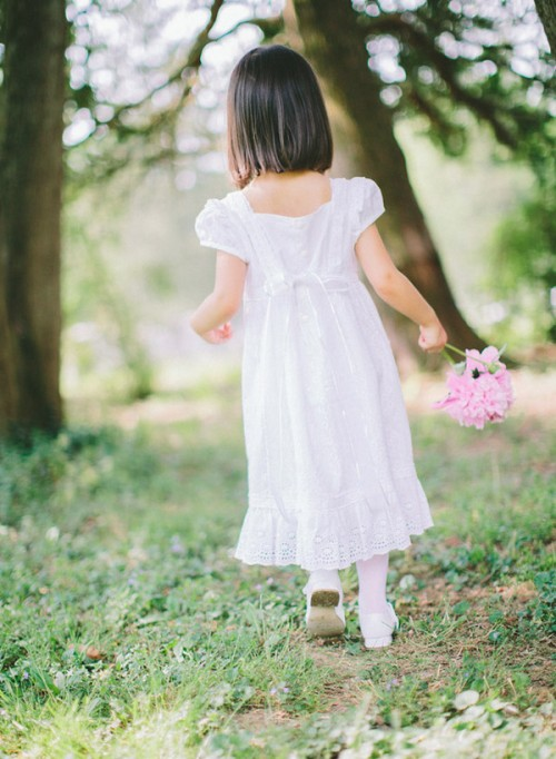 """LITTLE GIRL IN A WHITE DRESS"" BY KELLY SAUER"