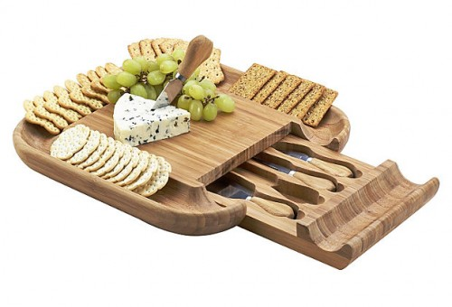 Malvern Cheese Board Set, Bamboo