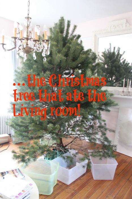 the VERY HUNGRY CHRISTMAS TREE!