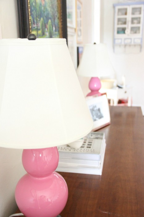 My Pink lamps